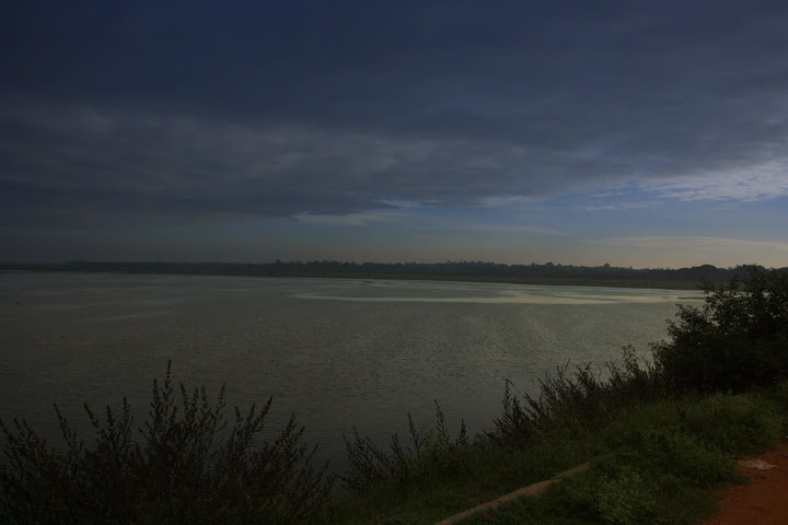 View of Hesaraghatta Lake in the morning