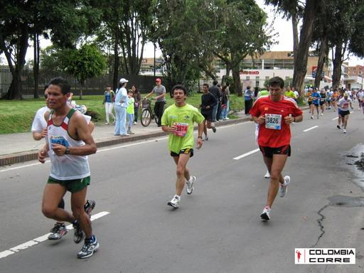 fotos media maratón de Bogotá 2010