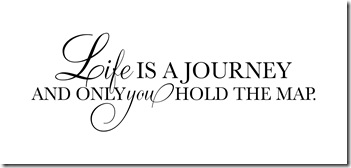 life is a journey and map