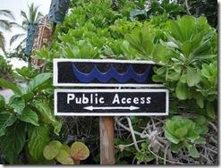 ハワイ島ビーチアクセス