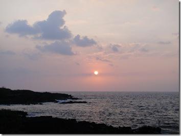 ハワイ島コナ・サンセット
