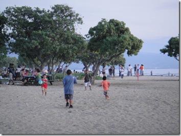 ハワイ島・ビーチ・子供