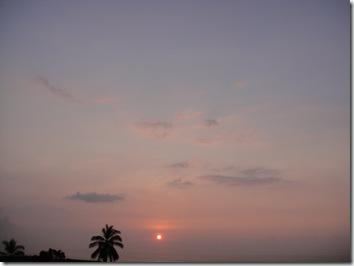 夕日・サンセット・ハワイ島