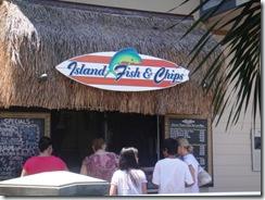 ハワイ島・レストラン・フィッシュアンドチップス