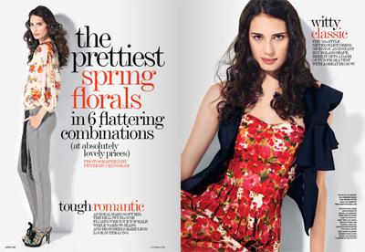 still dottie fashion blitz - april lucky's floral print guide