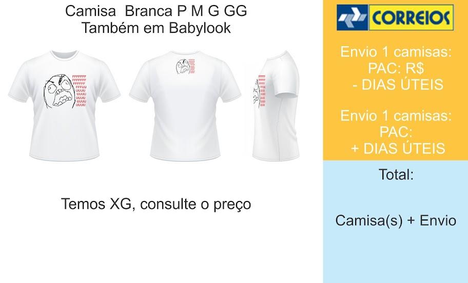 Camisa FFFFUUUUU