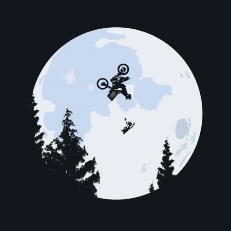 Camisa ET , O filme versão BMX Extreme