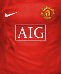 Camisa do Manchester United