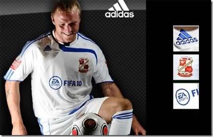 EA patrocina time Inglês com o Fifa 2010