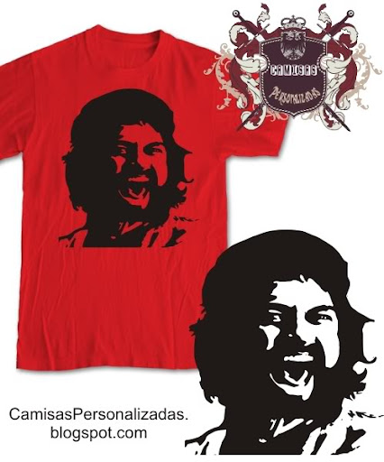 Camisa CheGuevara Leonidas Sparta do Filme 300 - vetor Download