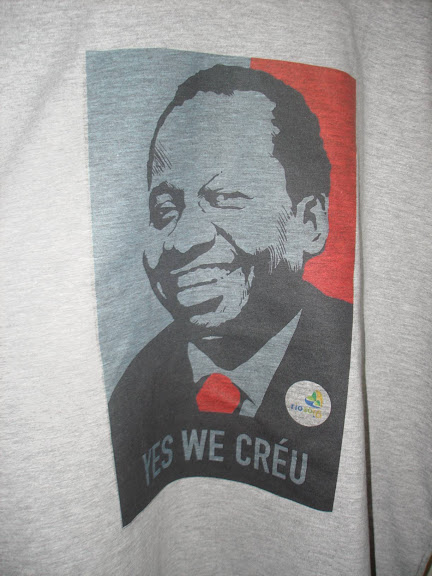 Camisa Olimpíadas Rio 2016 - Mussum,Obama, Obamis - Yes, We Créu