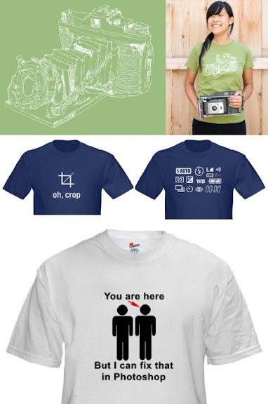 21 Camisas para Fotografos
