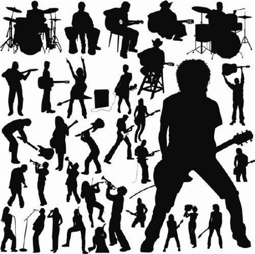 musician shapes