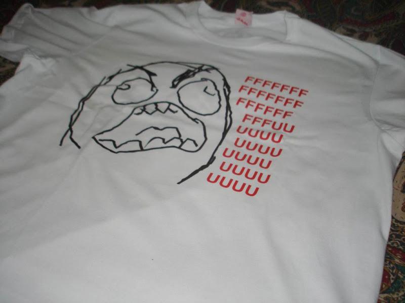 Camisa FFFFUUUU Rage