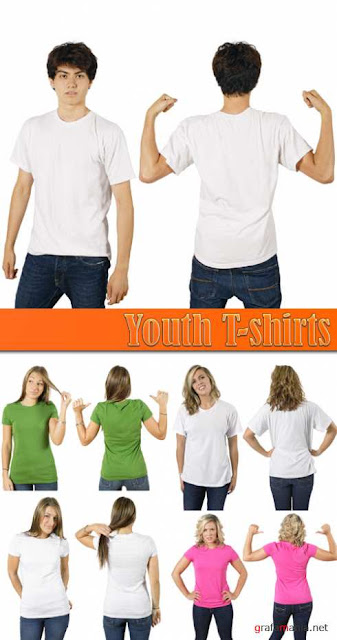 Templates de Camisa 37 : Youth T-shirts
