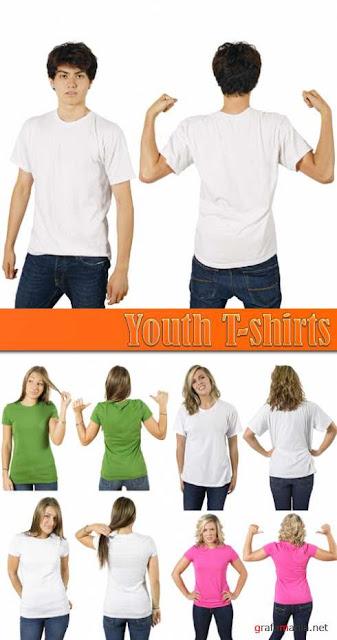 Templates de Camisa 37 : Youth T-shirts