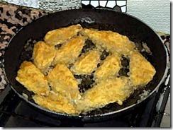 Frittura pesce persico