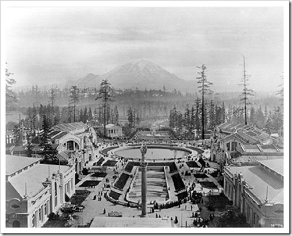 Alaska-Yukon-Pacific Exposition- Rainier Vista