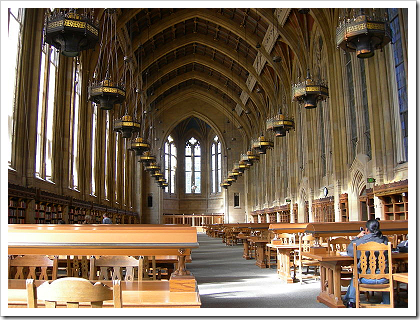 Suzzallo Library Graduate Reading Room