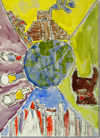 Inspiring Art: Chagall study