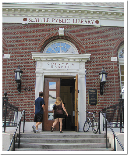 Columbia Branch Library entrance