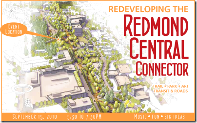 Redeveloping the RedmondCentral Connector