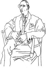 Portrait of Stravinsky - 1920