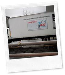 KCLS Delivery Van