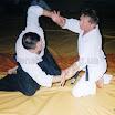 Бендеры май 1996. Семинар по Айкидо. Сергей 1-дан Айкидо выполняет Кокью-Хо