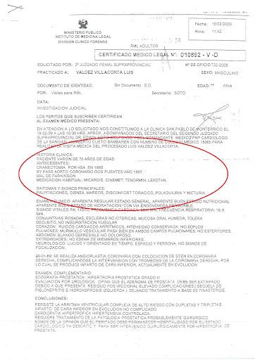 Certificado M  Dico Legal De Ministerio P  Blico