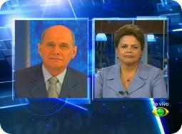 Dilma Rousseff no Jornal da Band - 02/11/2010