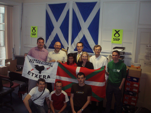 SNP basque country