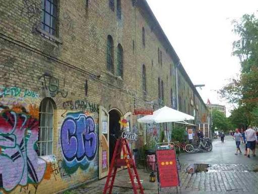 Christiania, fristaden, szabadváros,  hippi, városállam, Dánia, Skandinávia, fű,  hasis, önkormányzat,  kommuna