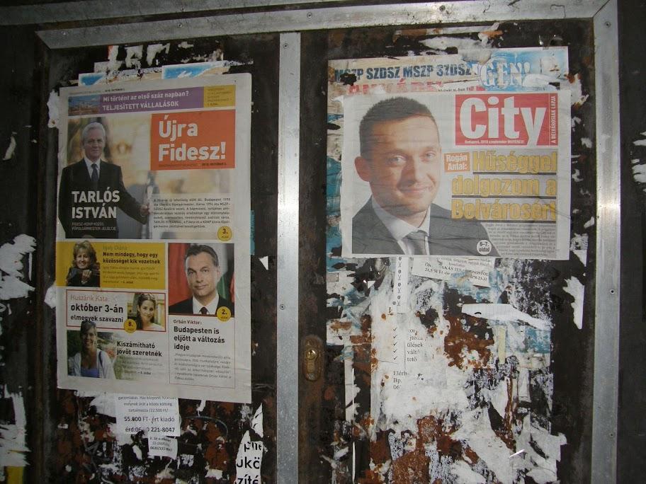 Rogán Antal,  belváros, City,  újság, plakát, kampány, City Rogán Antal,  belváros, City,  újság, plakát, kampány, City, V. kerület, Fidesz, 5. kerület, polgármester