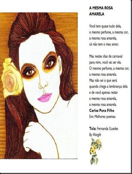 CARTAO ROSA AMARELA