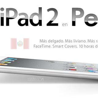 iPad 2 en Perú, conoce los precios y modelos disponibles