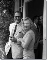 0629 mariage de Marilyn Monroe et Arthur Miller