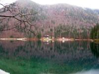 Spodnje Mangartsko jezero