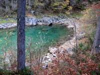 Zaliv gornjega Mangartskega jezera