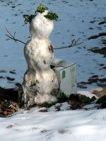 Sneženi mož na Vinskem vrhu