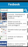 Screenshot of Fesbook Blog