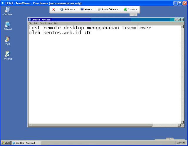 Screenshot Team Viewer 2