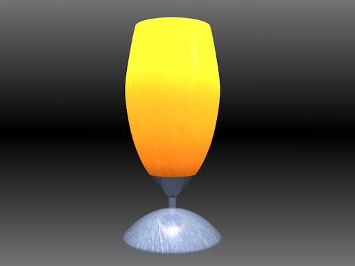 Le d veloppeur de jeux vid o mod lisation 3d d 39 objets de for Lampe de chevet chevalier