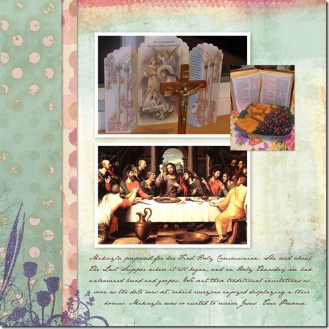 Mikaylas 1st Communion - Page 002