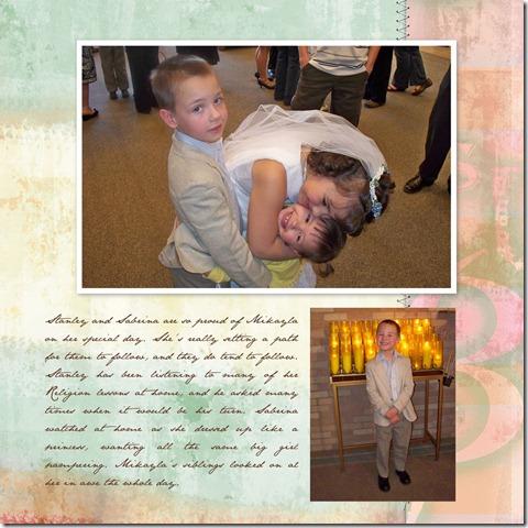 Mikaylas 1st Communion - Page 011