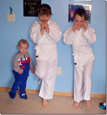 Karate First Day