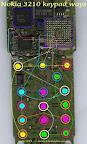 Trik Jumper 3210 keypad