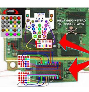 Trik Jumper Solusi 6600 Keypad