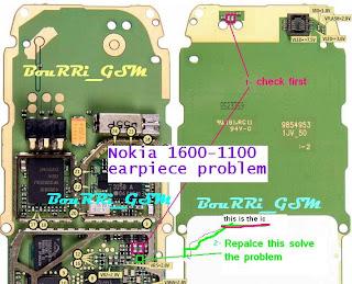 Solusi Nokia 1600 Audio