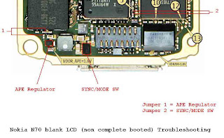 N70 blank LCD non complete booted  Troubleshooting